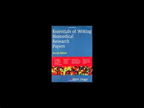 Technical writing of research papers