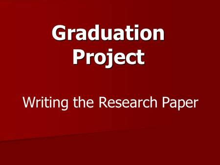 Technical Paper Writing - IEEE